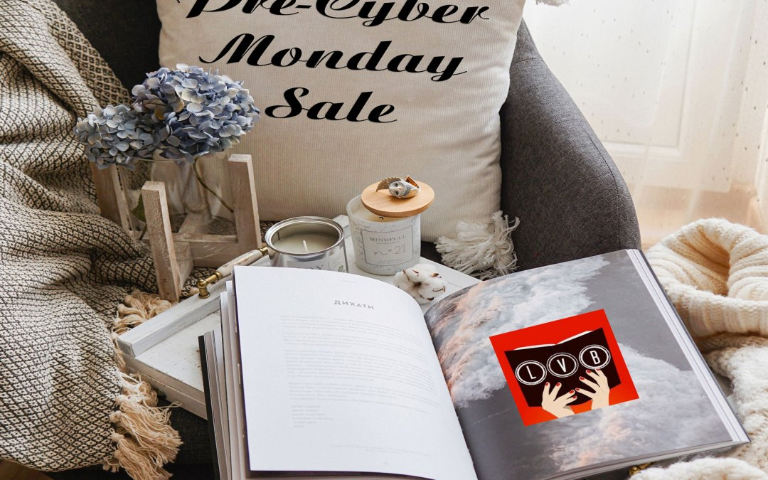 pre cyber monday book sale