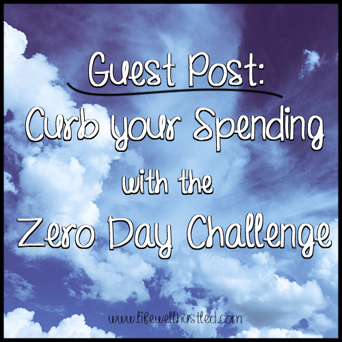 Guest Post: Curbing Your Spending with the Zero Day Challenge