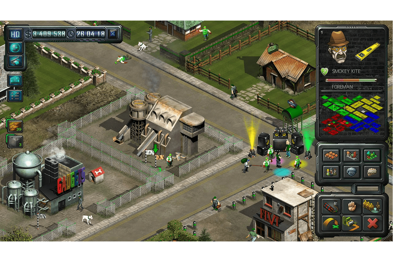 10 Best City Building Games for the PC Screenshot of the Constructor HD city building game