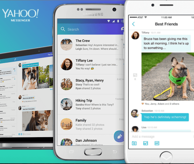 Search For Yahoo Messenger In The App Store