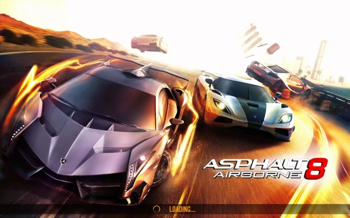لقطة للشاشة Asphalt 8: Airborne gameplay