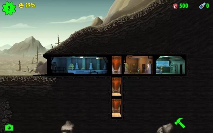 لقطة من اللعب Fallout Shelter