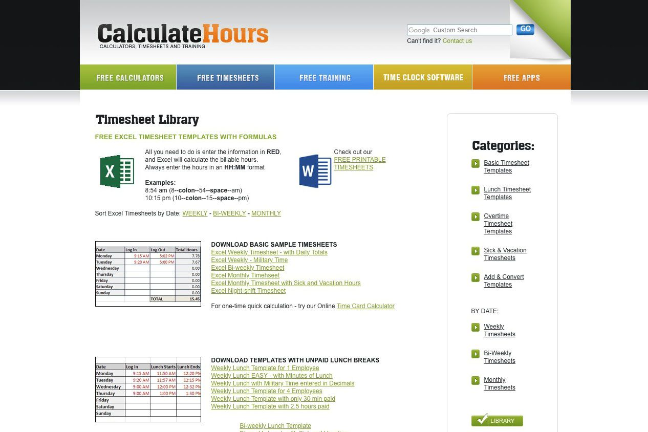 9 Best Sites With Free Excel Templates