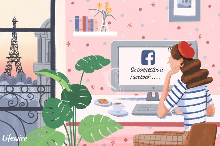 How Change Facebook Language Settings Back English