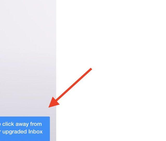 Screenshot Of New Yahoo Mail Button