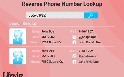 5 Best Ways To Look Up A Cell Phone Number Online