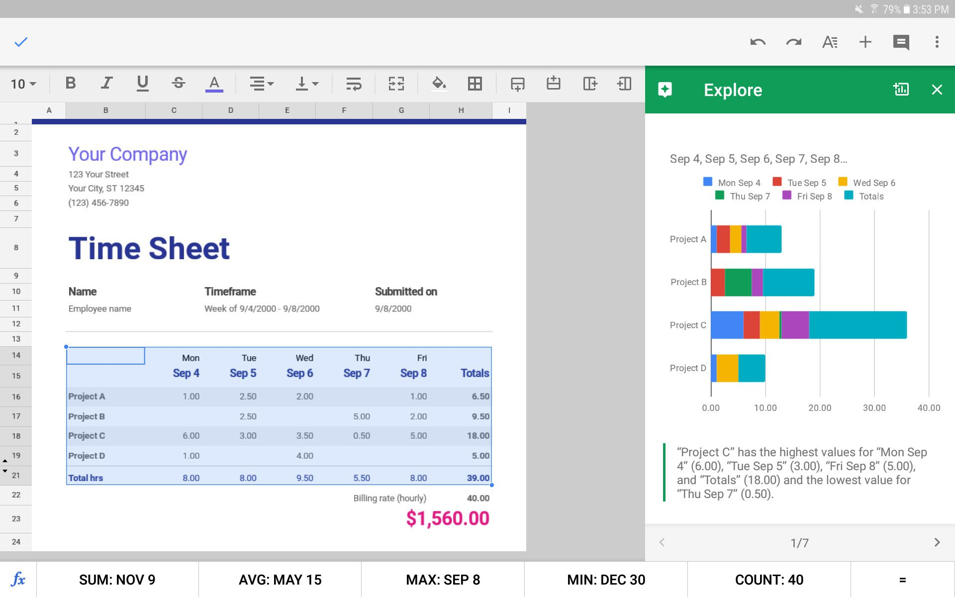 The 5 Best Spreadsheet Apps For Android In