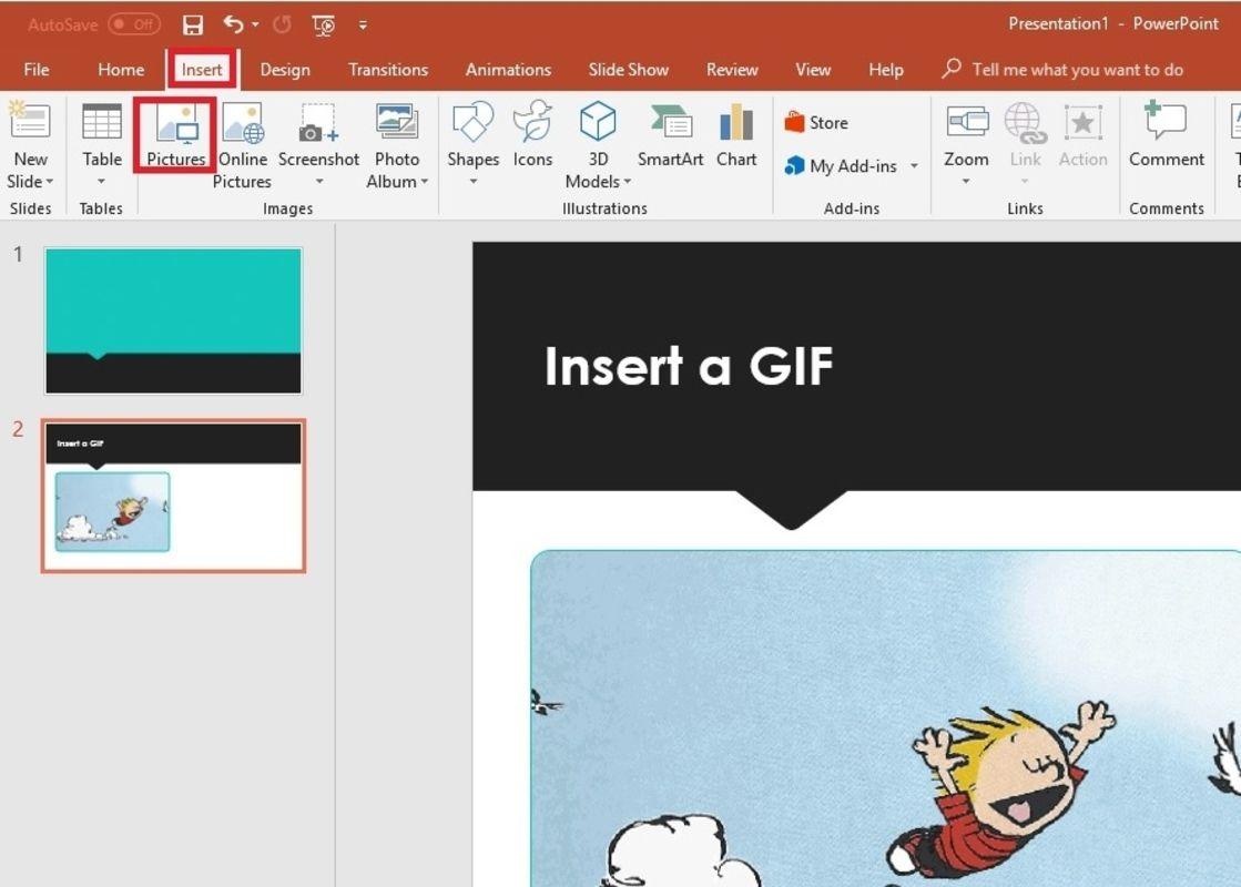 How To Insert Gif Into Powerpoint