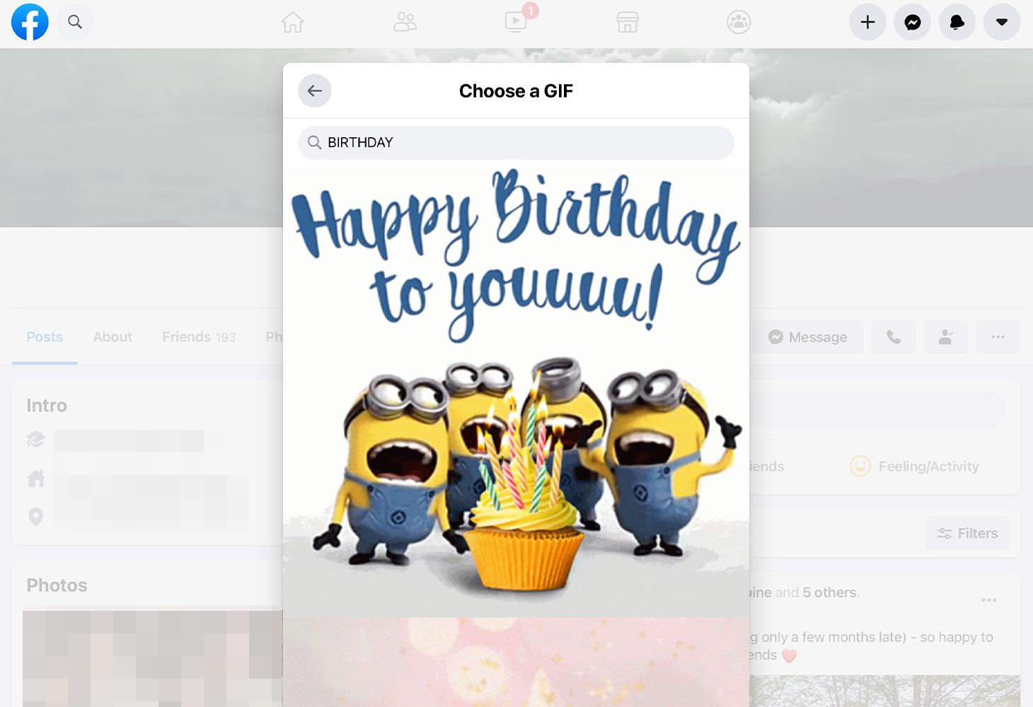 How To Send Birthday Cards On Facebook