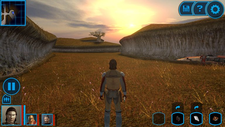 The 10 Best Role Playing Games for Android Star Wars  Knights of the Old Republic