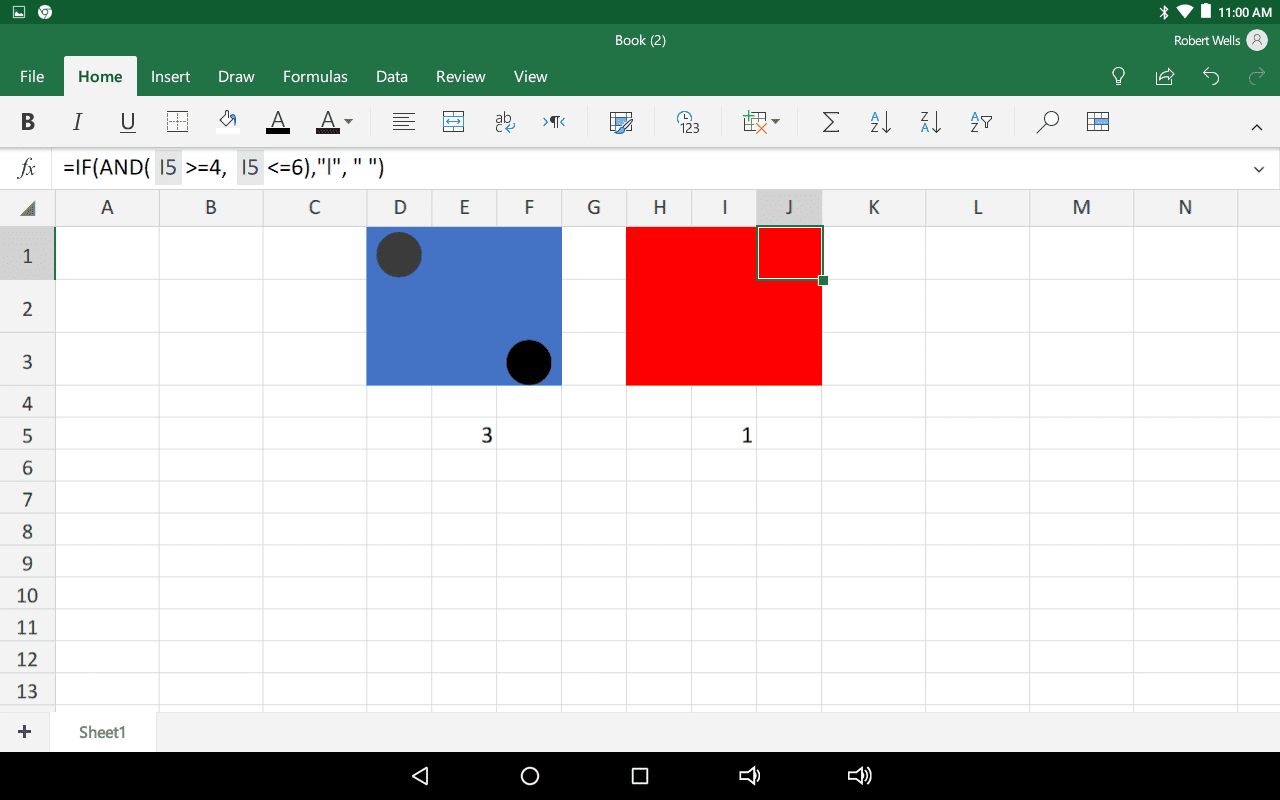 How To Create A Pair Of Rolling Dice In Excel