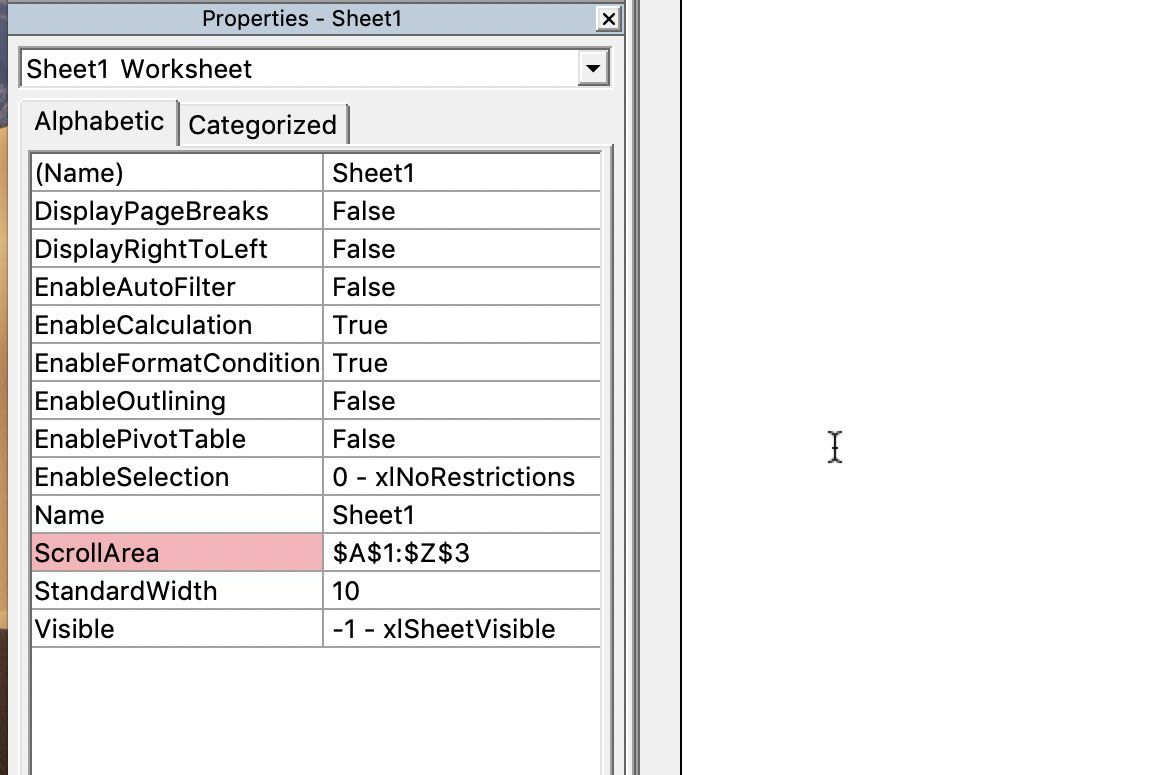 How To Limit Rows And Columns In An Excel Worksheet