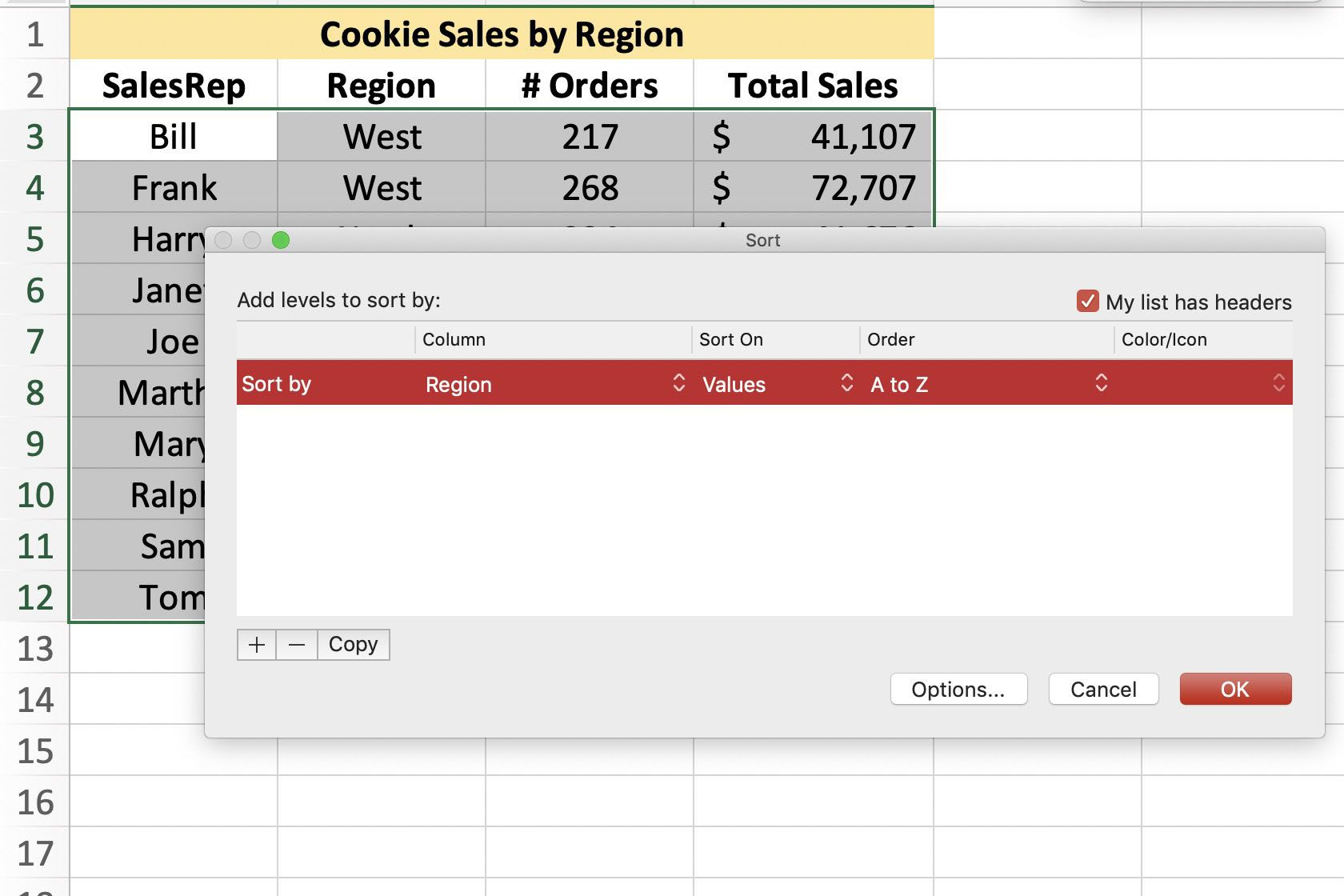 Find Average Values With Excel S Subtotal Function