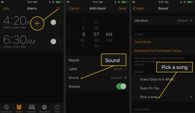 How To Set A Song As An Iphone Alarm