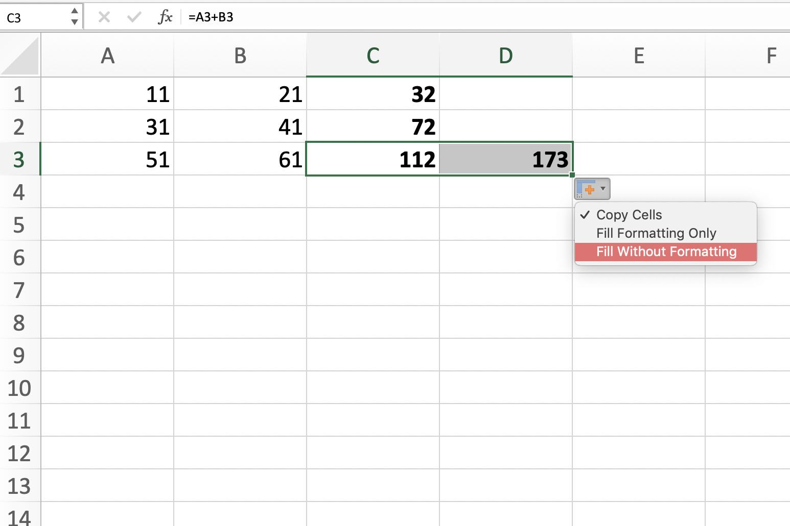 How To Copy Formulas And Data With Excel S Fill Handle