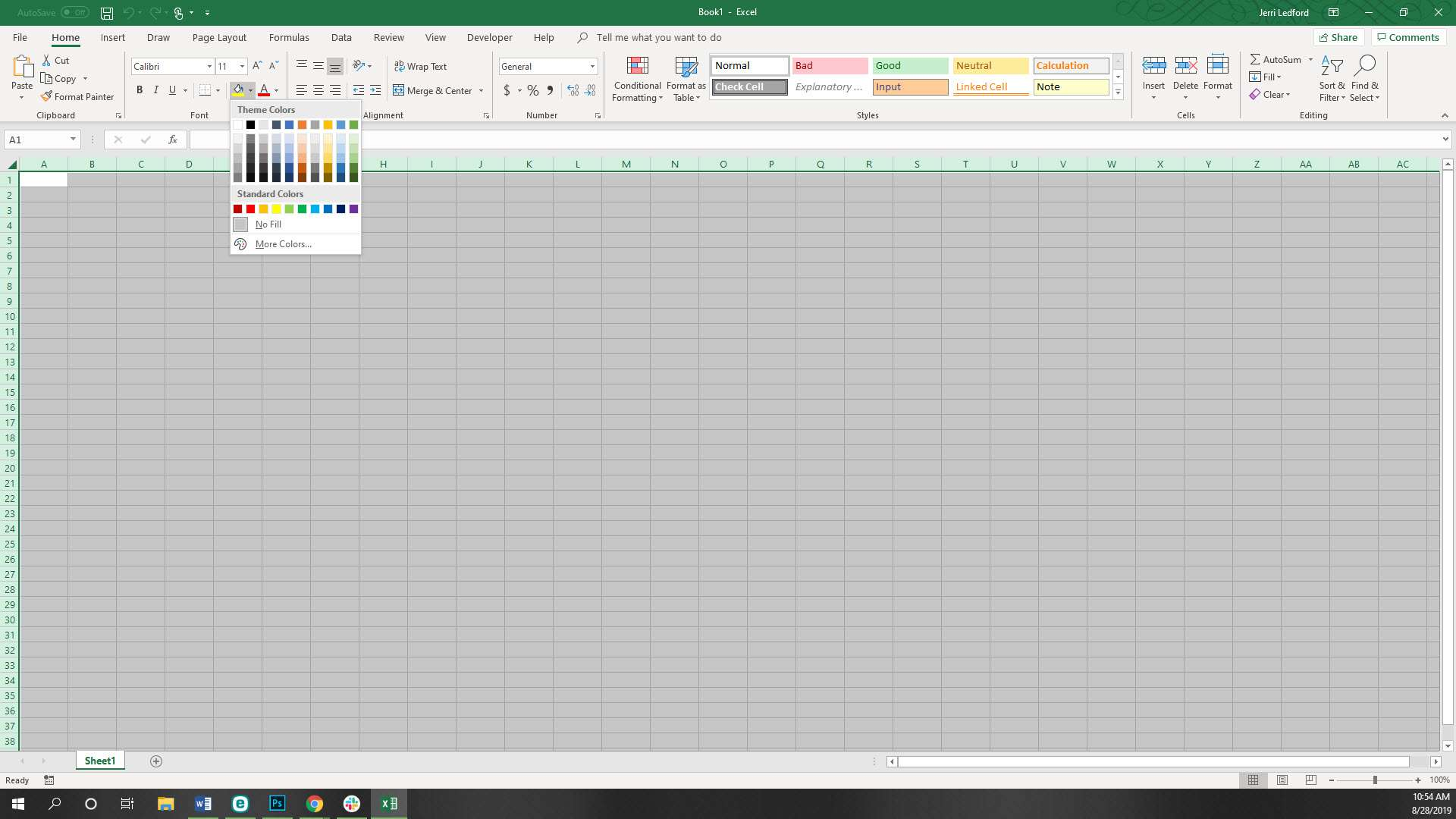 How To Remove Or Add Gridlines In Excel