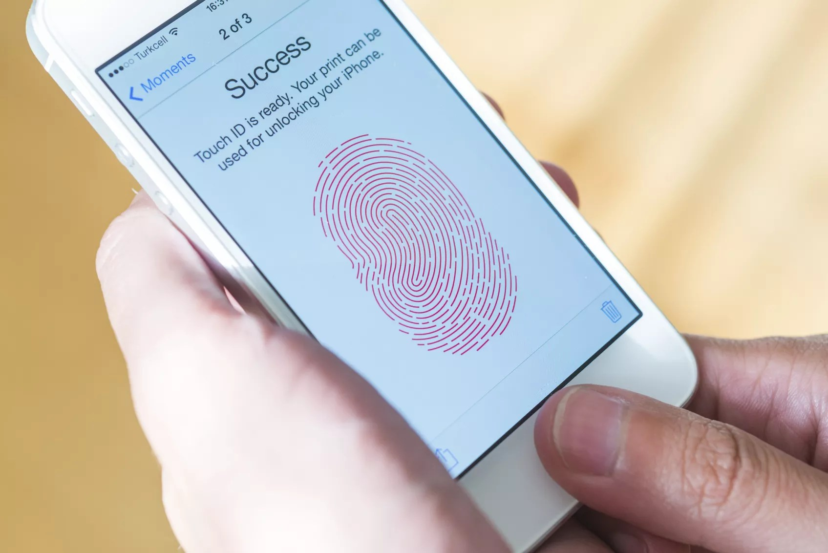 Touch ID on iPhone - The Internet Tips