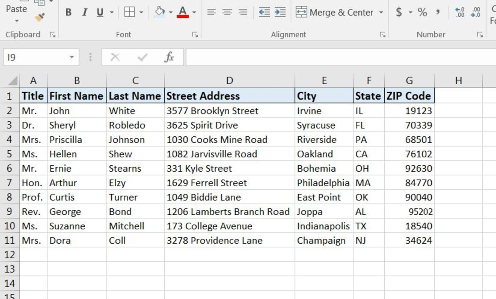 How To Print Labels From Excel