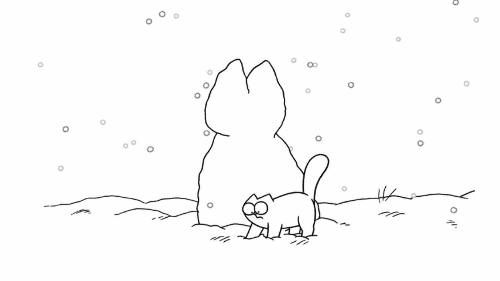 Simon S Cat Snow Cat