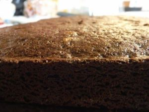 brownie mix cake