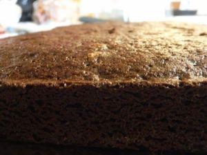 brownie mix cake