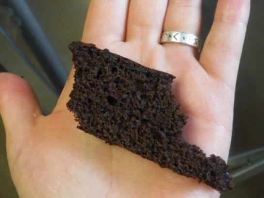 cake using brownie mix