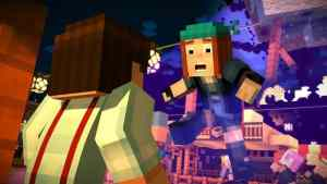 blacksmith minecraft story mode