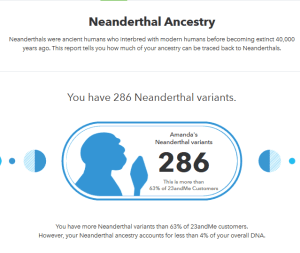 23andme review neanderthal