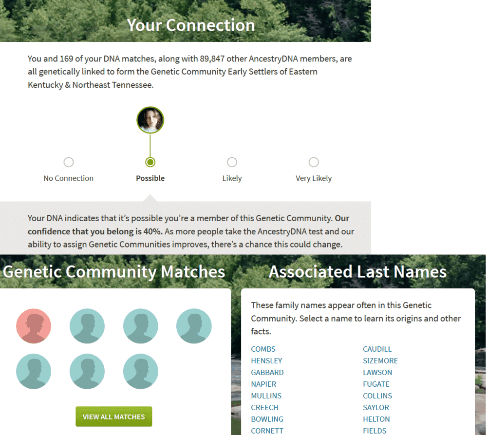ancestry dna gentic communities review