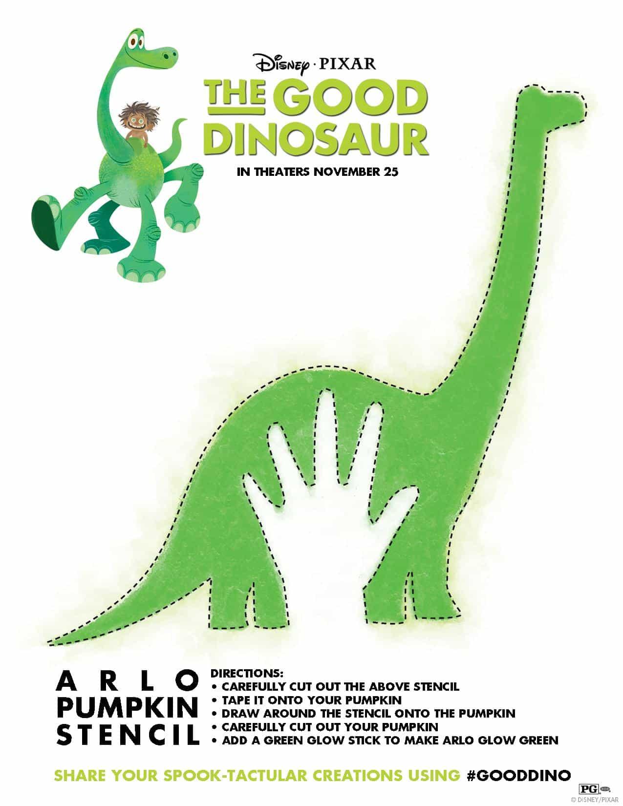 The Good Dinosaur Activities