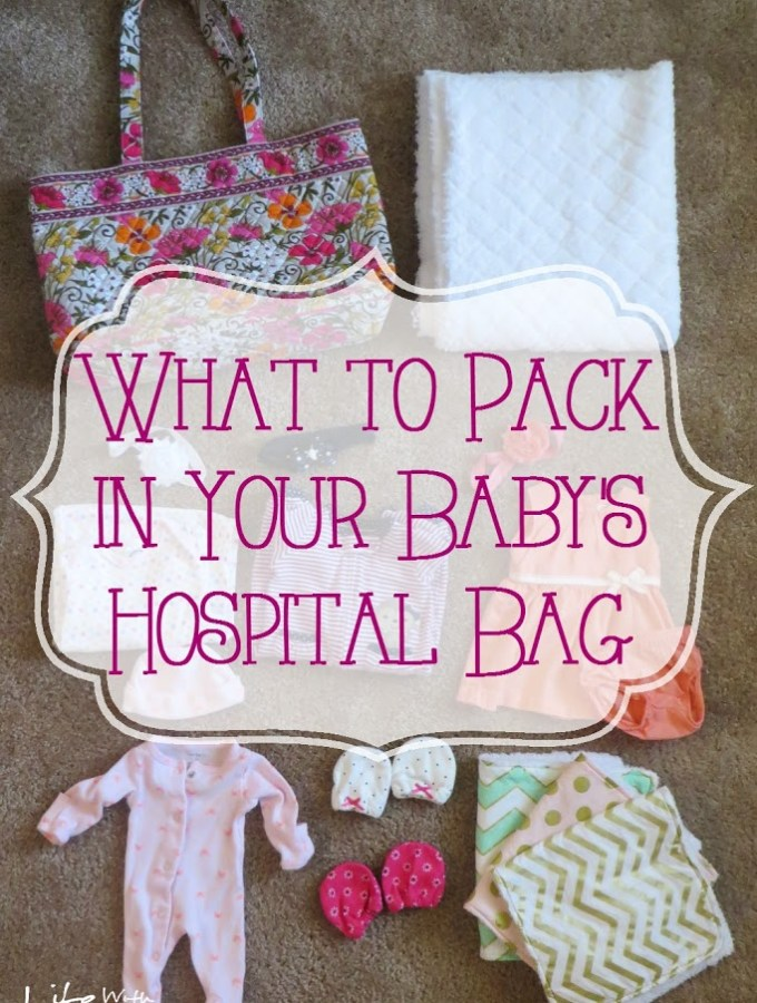 What to Pack in Your Baby's Hospital Bag