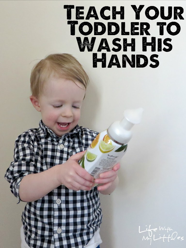 How to teach a child to wash their hands