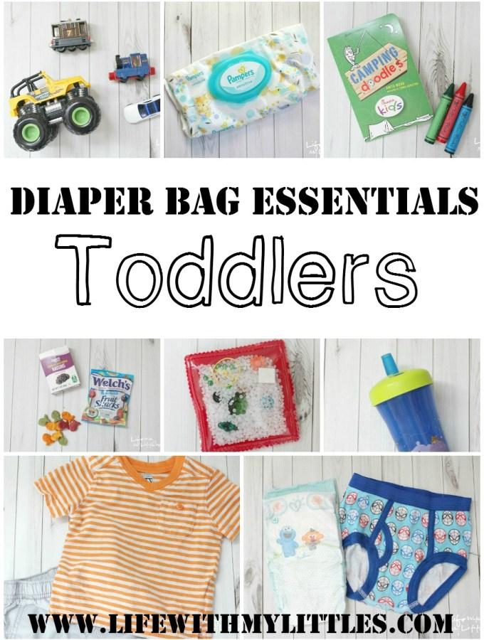 Diaper Bag Essentials: Toddlers