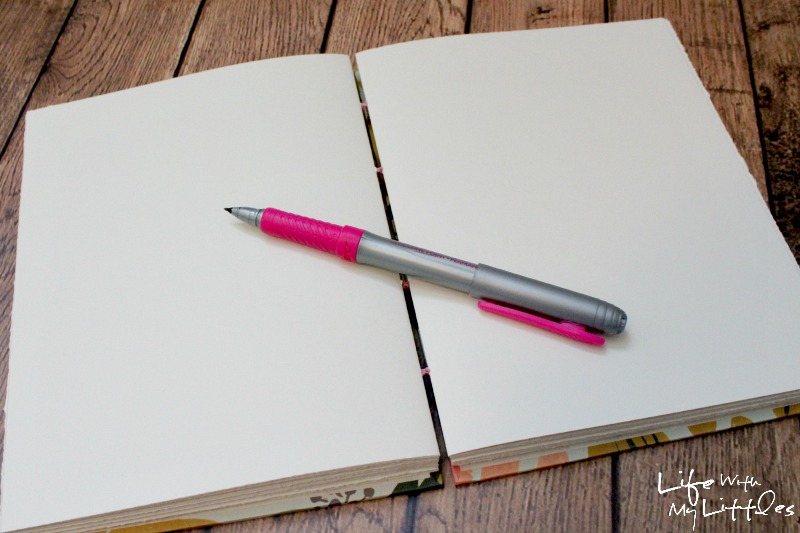 Use a memory journal to record special moments as your child grows, then give it to them when they graduate. A great idea to preserve memories and way better than keeping a baby book!