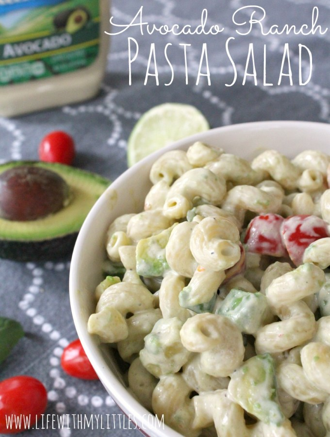 Avocado Ranch Pasta Salad