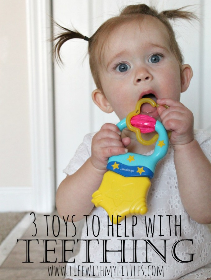3 Toys to Help with Teething