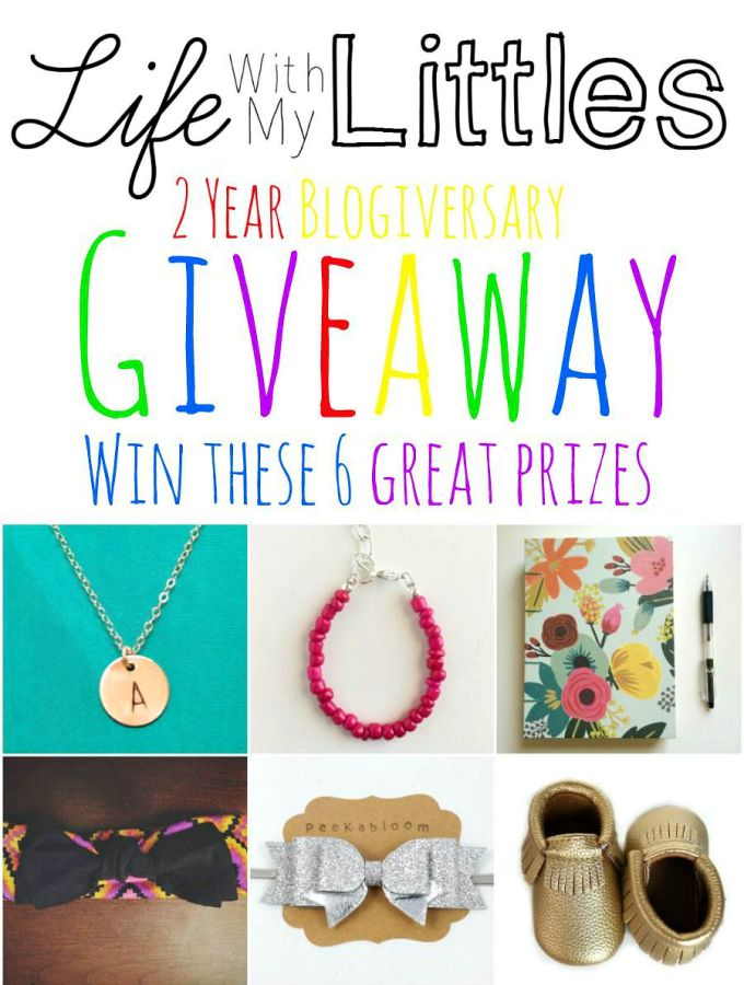 Second Blogiversary Giveaway
