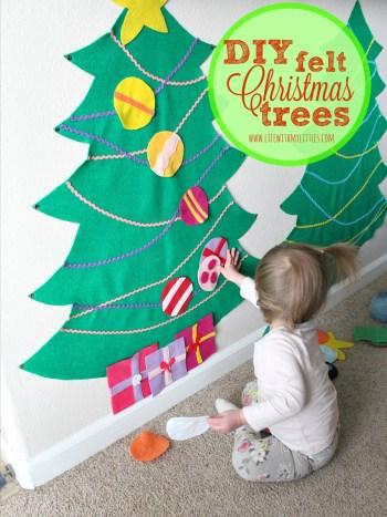 diy-felt-christmas-trees