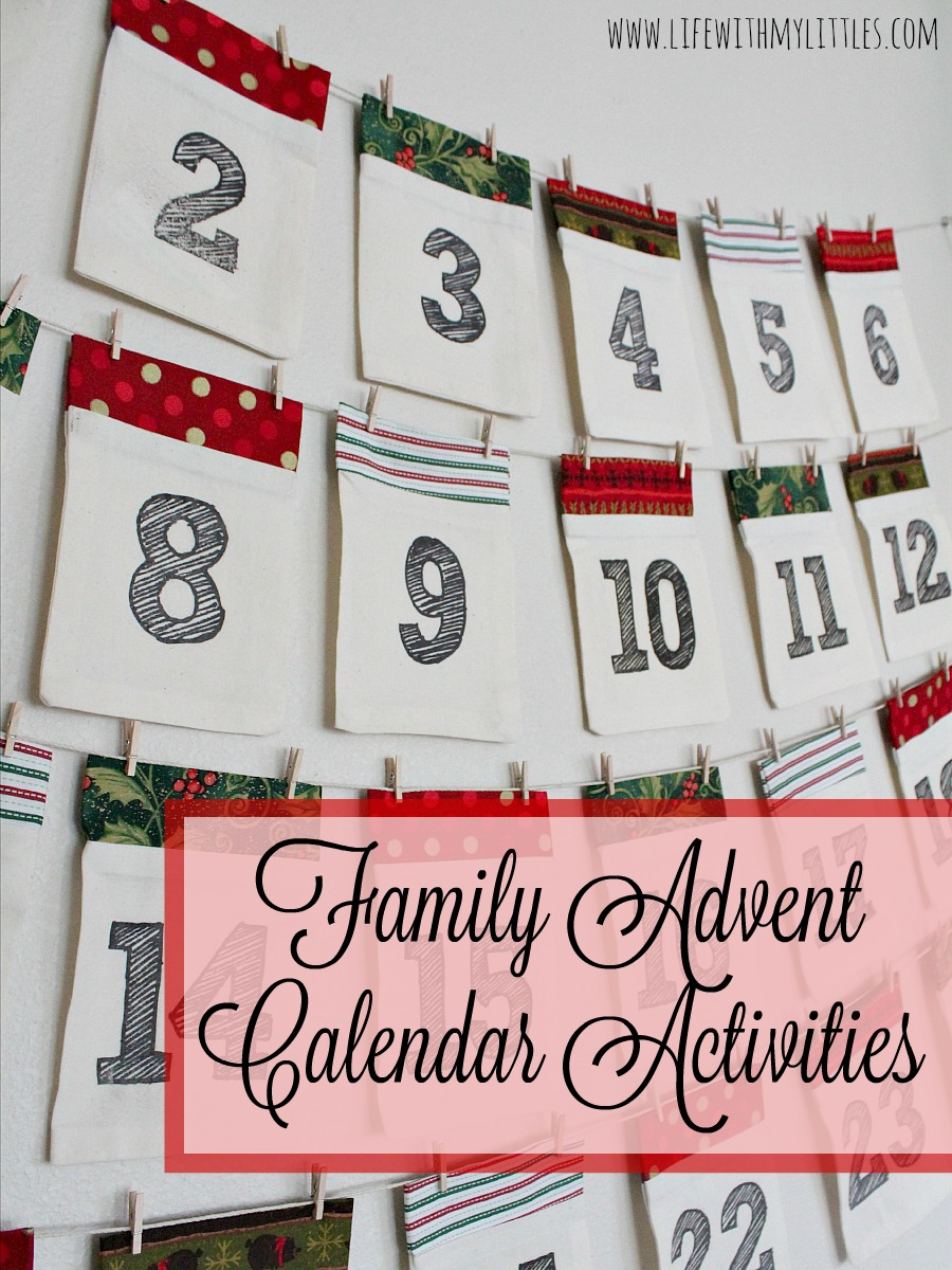 family advent calendar activities life with my littles. Black Bedroom Furniture Sets. Home Design Ideas