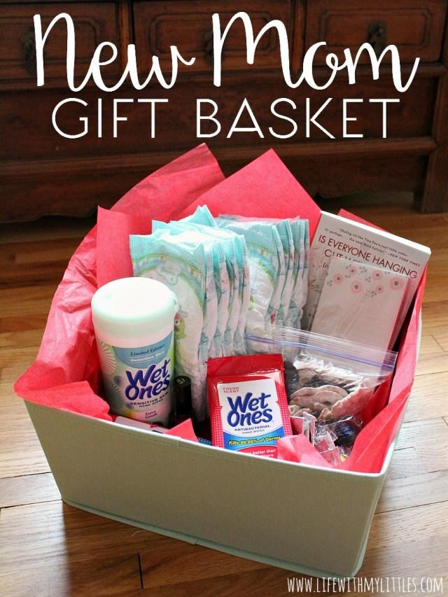 New Mom Gift Basket