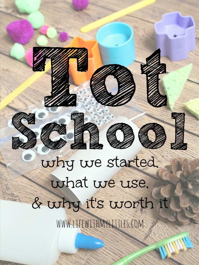 What is Tot School? An intro to why it's the perfect pre-preschool and how it keeps moms and kids from being bored at home. Plus, a free printable weekly planning sheet!