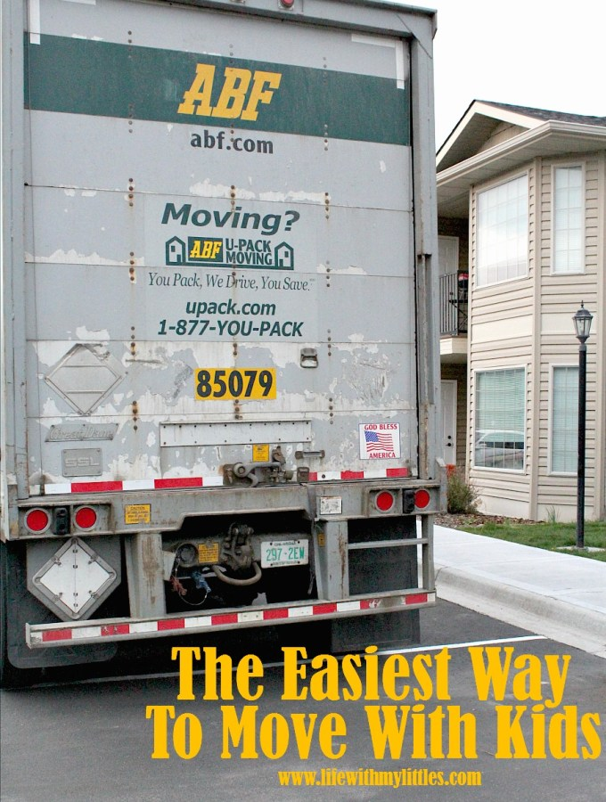 The Easiest Way to Move with Kids
