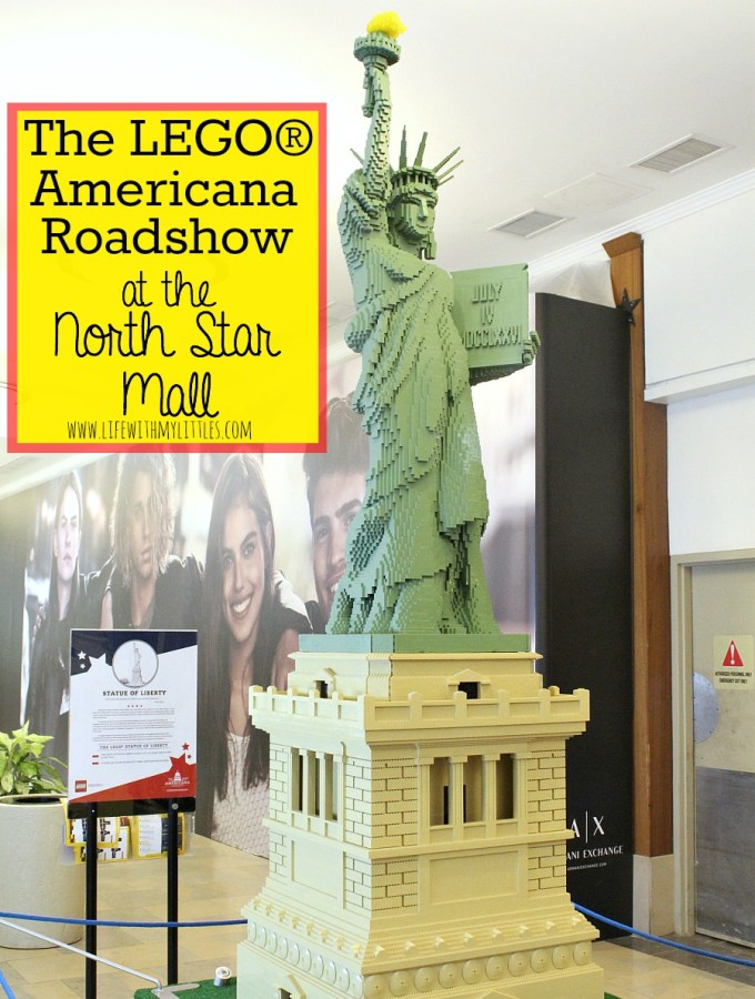 The Lego Americana Roadshow at the North Star Mall