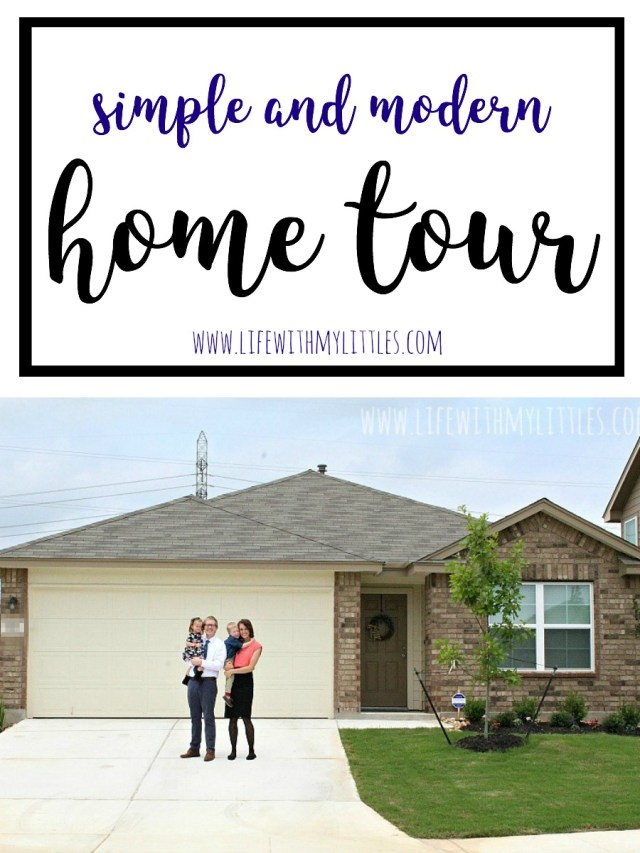 The long-promised home tour from Life With My Littles is finally here! I love the simple and modern style of home decor. And she tells you where everything is from! So helpful!