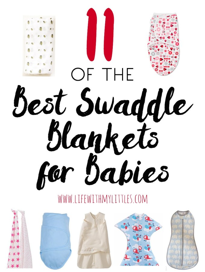 11 of the Best Swaddle Blankets for Babies