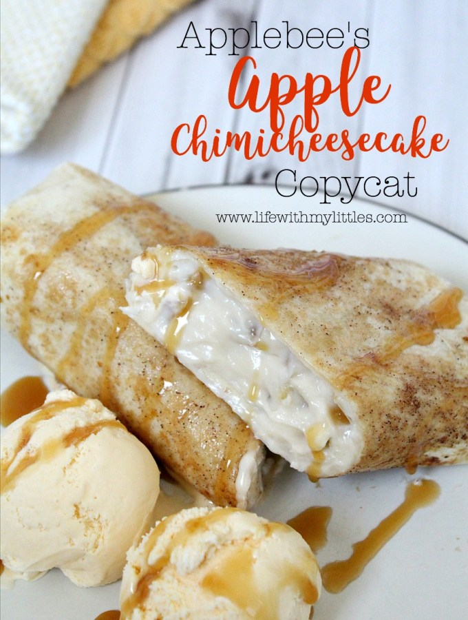 Applebee's Apple Chimicheesecake Copycat