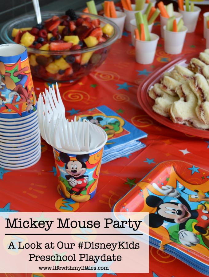 Our #DisneyKids Preschool Playdate
