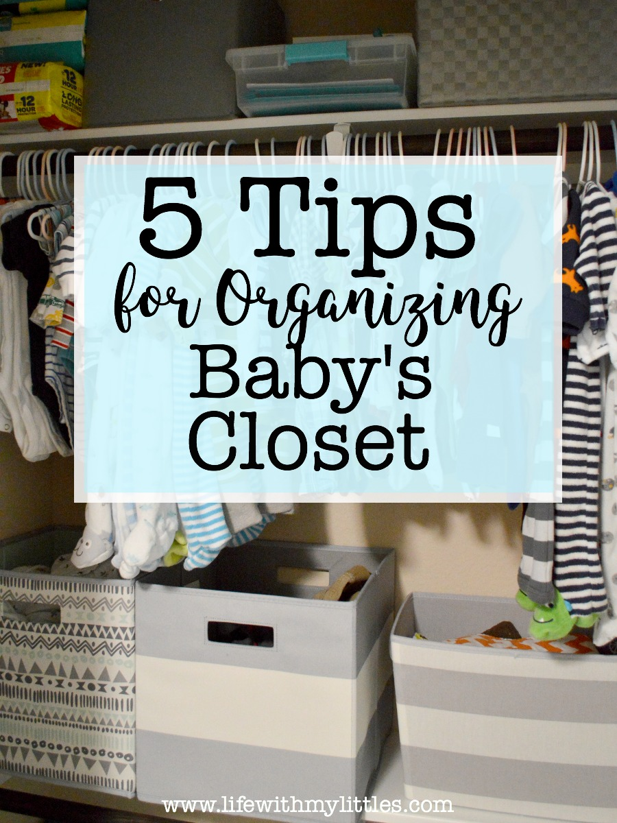 Bon These Tips For Organizing Babyu0027s Closet Are So Helpful! Number Three Is So  Important!
