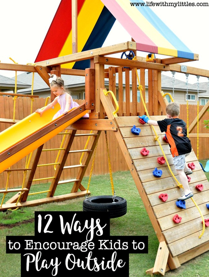 Ways to Encourage Kids to Play Outside