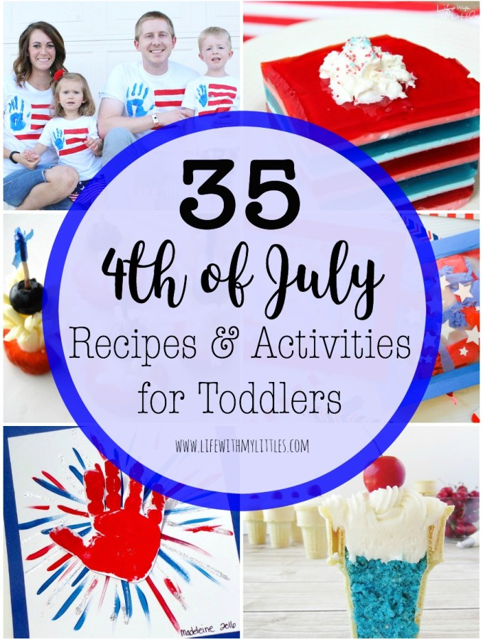 4th of July Recipes and Activities for Toddlers